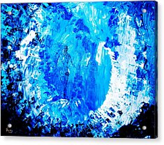 Acrylic Print featuring the painting Wandering Aimlessly by Piety Dsilva
