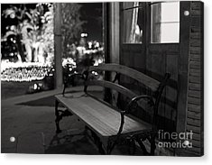 Acrylic Print featuring the photograph Wandering Around The Night by Aiolos Greek Collections