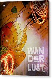 Acrylic Print featuring the photograph Wanderlust by Bobby Villapando