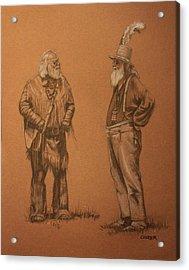 Wanna Buy A Hat? Acrylic Print