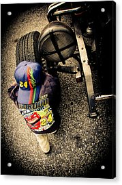 Wanna Test Drive? Acrylic Print by Jessica Brawley