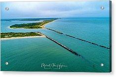 Waquiot Bay Breakwater Acrylic Print