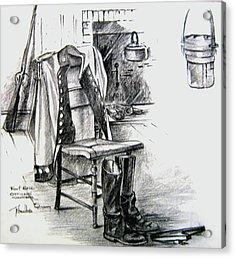 War 1812 Acrylic Print by John Smeulders