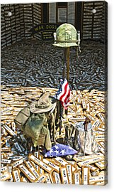 War Dogs Sacrifice Acrylic Print