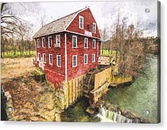 War Eagle Mill Acrylic Print