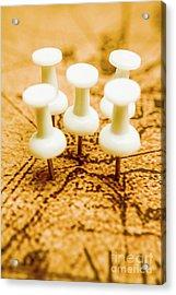 War Game Tactics Acrylic Print