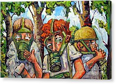 War Games Acrylic Print by Charlie Spear