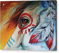 War Horse Spirit Eye Acrylic Print