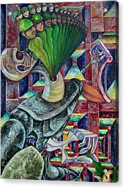 War Hunger Acrylic Print by Horacio  Montes