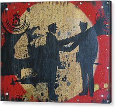 War Mongers Acrylic Print