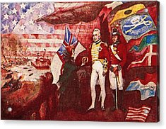 War Of 1812 Acrylic Print by Dean Gleisberg