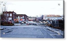 War Zone 3 Montreal Acrylic Print by Reb Frost
