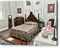 Acrylic Print featuring the photograph Wardens Bedroom by Linda Constant