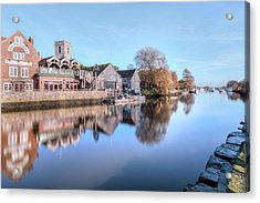Wareham - England Acrylic Print by Joana Kruse