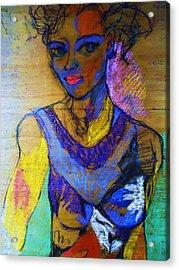 Warhol Simone Acrylic Print