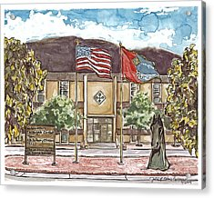 Warhorse Bde Headquarters Building Acrylic Print