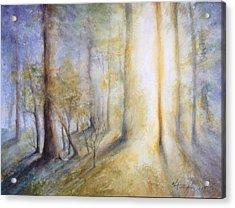 Warm Breath Of Spring Acrylic Print