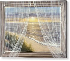 Warm Breeze Acrylic Print