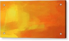 Acrylic Print featuring the digital art Warm Moment by John Hansen