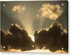 Warm Sky Acrylic Print