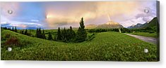 Warm The Soul Panorama Acrylic Print by Chad Dutson