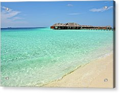 Warm Welcoming. Maldives Acrylic Print