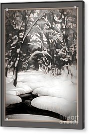 Warmth Of A Winter Day Acrylic Print