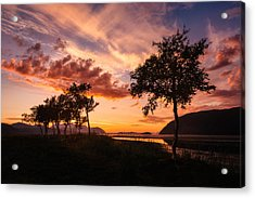 Warmth Acrylic Print by Tor-Ivar Naess