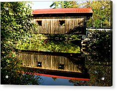 Warner Covered Bridge Acrylic Print