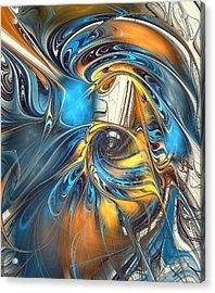 Warp Drive  Acrylic Print by Anastasiya Malakhova