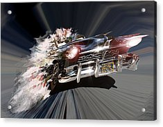 Acrylic Print featuring the photograph Warp Speed by Christopher Woods
