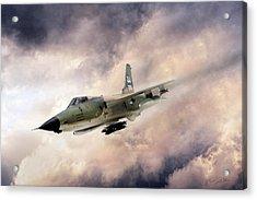 Warpath F-105 Acrylic Print by Peter Chilelli