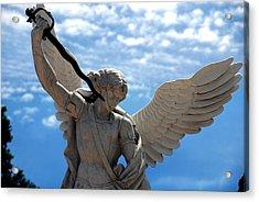 Warrior Angel Acrylic Print by Susanne Van Hulst