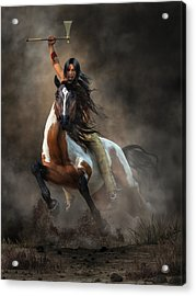 Warrior Acrylic Print