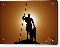 Warrior Acrylic Print by David Lee Thompson