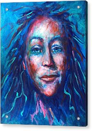 Warrior Goddess Acrylic Print