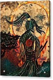 Warrior Moon Acrylic Print