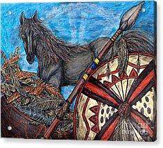 Warrior Spirit Acrylic Print
