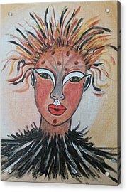 Warrior Woman  #3 Acrylic Print
