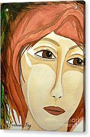 Warrior Woman - No Apologies Acrylic Print