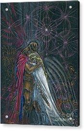 Warriors Of Infinity Acrylic Print by Tatiana Kiselyova