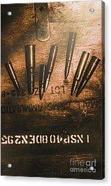 Wars And Old Ammunition Acrylic Print