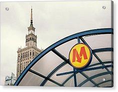 Warsaw Acrylic Print by Chevy Fleet