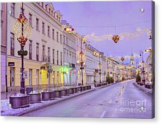 Acrylic Print featuring the photograph Warsaw by Juli Scalzi