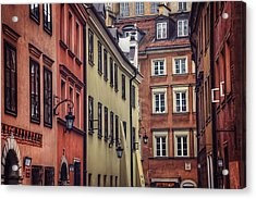 Warsaw Old Town Charm Acrylic Print