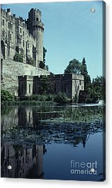 Warwick Castle Acrylic Print by David Pettit