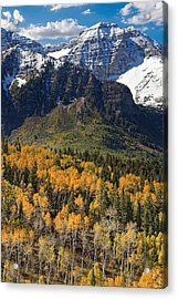 Wasatch Mountains Autumn Acrylic Print