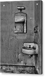 Wash Away Your Fears Acrylic Print by Evelina Kremsdorf