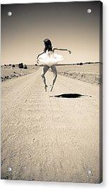 Washboard Ballet Acrylic Print by Scott Sawyer