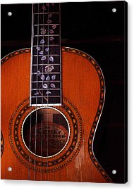Acrylic Print featuring the photograph Washburn Guitar by Jim Mathis